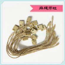 Factory Price1000PCS String Clothing Hang Plastic Seal Tag for garments Shoes and Bags, Garment Accessories JS-32