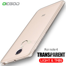 Buy OICGOO Transparent Silicone Case Xiaomi Redmi Note 5A 4X 4 Soft TPU Phone Cover Cases Xiaomi Redmi 4X 4A 5A Case for $1.37 in AliExpress store