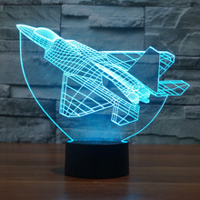 HAOCHU Time Machine 3D Led Table Lamp Luminaria Ship Reading Evening Lights Bedroom Decor Kids Baby Sleep Lighting Holiday Gifts