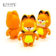 Easy Learning Cartoon USB 2.0 Pen Drive Model Garfield Minions USB Flash Drives 4GB 8GB 16GB 32GB 64GB Pendrives Case Toys Gifts