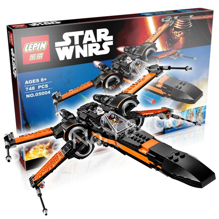 748pcs 2017 Bela 05004 New Star Wars Poes X-Wing Fighter Building Blocks Poe Dameron Compatible With Lego<br><br>Aliexpress