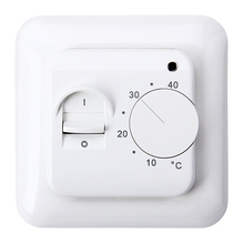 16A Universal Electronic Underfloor Heating Temperature Thermostat Regulator 5~40C Room Warm Temperature Controller 230V LED(China)