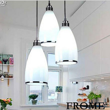 Three modern minimalist restaurant dining table lighting fixtures Diner support mixed batch Pendant Lights  Rmy-0233
