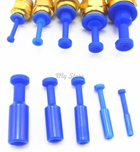 10X Blue Nylon Pneumatic Blanking Plug Hose Tube Push Fit Connector Air Line 4/6/8/10/12MM