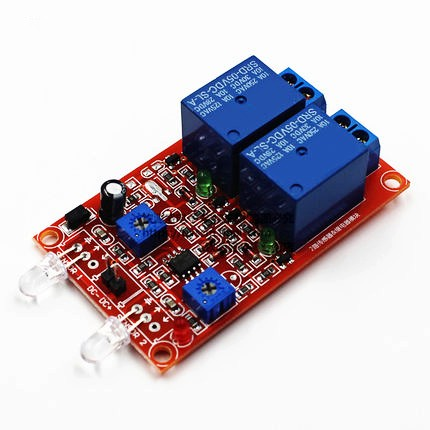 2-Channel  photodiode module relay module<br><br>Aliexpress