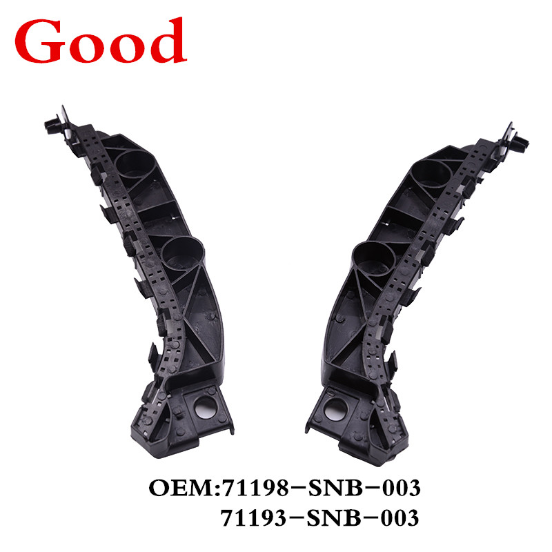 A PAIR FRONT BUMPER BRACKET HOLDER SUPPORT For 2012-2015 HONDA CIVIC