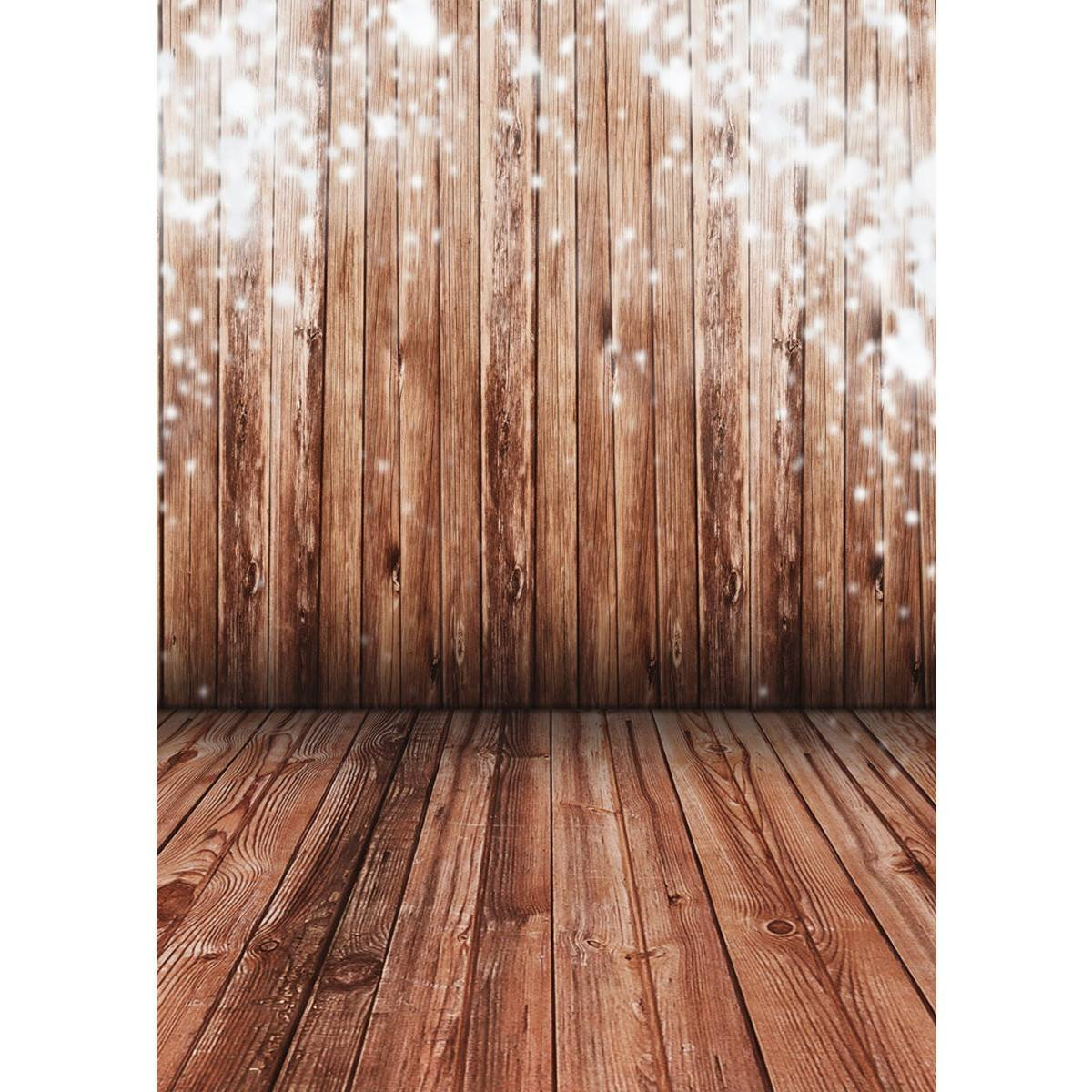 5*7FT Wood Floor Subject With Snowflake Photography Backdrop Nice Cloth Screen For Customer Indoor Photograph<br><br>Aliexpress