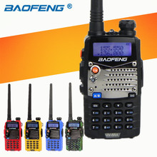 Long Range Walkie Talkie Uhf Vhf Pofung UV-5RA Is Upgraded BAOFENG UV5R For CB Radio Station Radio Scanner Police Two-Way Radio