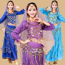 belly dance costume set bra skirt top oriental bollywood dance costumes for women adults plus size bellydance professional dress