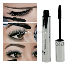 New Arrival Brand New Black Eye Mascara Long Eyelash Silicone Brush Curving Lengthening Mascara Waterproof Makeup(China)