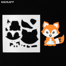 Buy KSCRAFT Lovely Fox Metal Cutting Dies Stencils DIY Scrapbooking/photo album Decorative Embossing DIY Paper Cards for $3.05 in AliExpress store