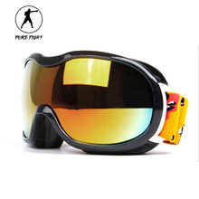 Outdoor Professional SKiing Goggles Snowboard PC Lens Anti UV Eye Protector Game Moto Hiking Winter Sports Goggles Glasses H103