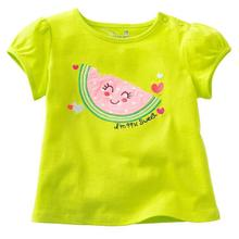 Brand 2016New baby Kids Girls Tshirt Child Clothing Childrens Tops Short Sleeve Tee blouse shirts Cartoon Summer Clothes(China)