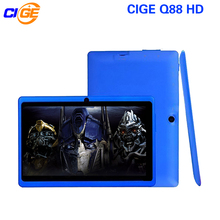 CIGE Q88 7 Inch Tablet PC Quad Core Android 4.4 Tablet 8GB ROM Dual Cam Google APP Play USB WIFI Multi-colors W/Keyboard New Hot(China)