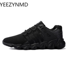 Casual-Shoes Footwear Breathable Plus-Size Fashion Lace-Up Summer High-Quality for Men