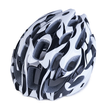 Cycling Helmets 5 Colors Flame Road Bicycle Helmet Visor MTB Equipment Protector Bike Accessories EPS+PC - Funny Sporting Store store