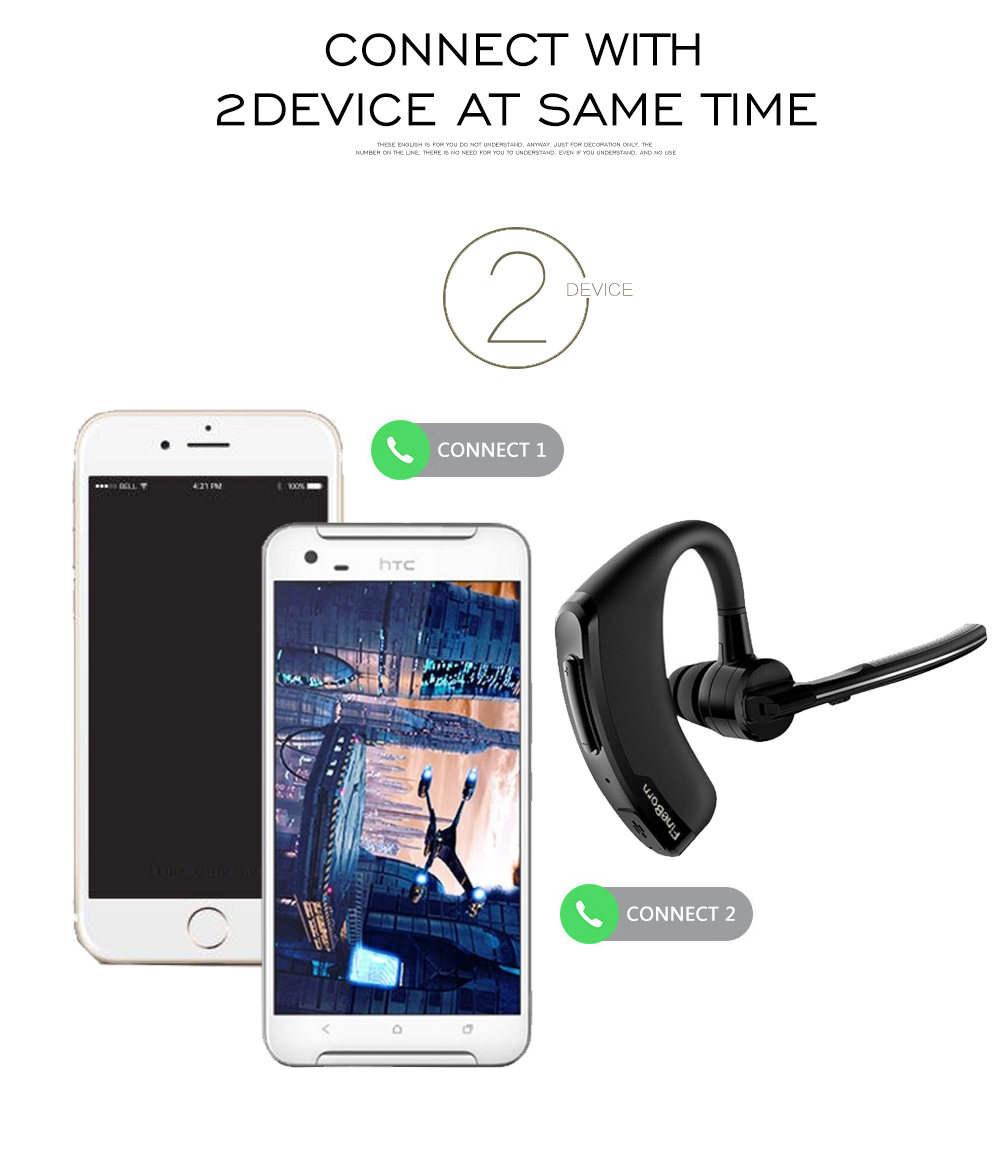 Wireless Bluetooth Headphones Headsets Bluetooth Handsfree Business Earphones with Mic Voice Control Noise Cancelling Sports (2)