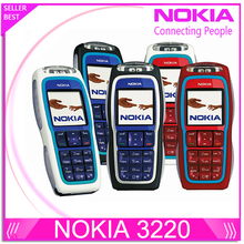 Refurbished Nokia 3220 GSM Cell Phone Original Unlocked NOKIA phone Support Russian Polish Free shipping