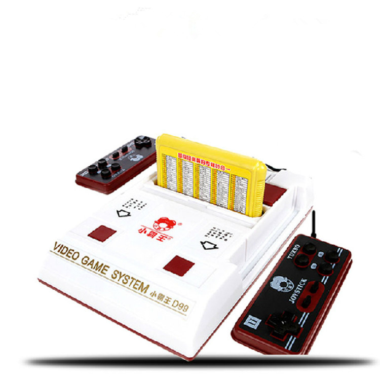 2017 New D99 Video Game Console Classic Family TV video games consoles player with 1 game card