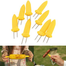 6/8/10/20pc Safe Corn on the Cob Holders Skewers Needle Prongs For BBQ Barbecue