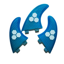 Surfing Surfboard Fins Fiberglass Surfboard Fins Portable Thruster Surf Paddle Board Accessories Outdoor Water Sports 7 colors(China)