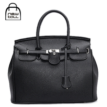 [NEWTALL] 2017 New Ladies' European PU Leather Desinger Brand Vintage Fashion Handbag Business Bag B7006
