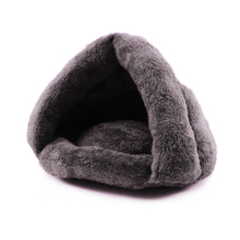 Fashion Small Pet Cat Bed Warming Small Dog Beds Velvet Comfortable Pet Mats Cat Dog Nest Provide Drop Shipping(China)