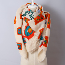 SALE Blanket Scarf, Women's Oversized Winter Scarf, Za designer Printing  shawl, Unique, Women's Statement Scarves
