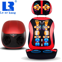 (LEK 566A+918N) a set body electric massage chair & foot massagers cheap set massage cushion & foot massage device with heating