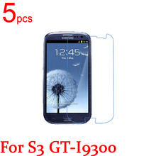 5pcs glossy/Matte/Nano anti-Explosion LCD Screen Protector Film For Samsung Galaxy S3 S4 S III IV GT i9300 I9500 Protective(China)