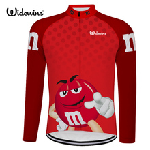 Get into the bowl! cycling jersey long Clearance motocross M bicycle exercise cycling clothing thin wicking cycling jersey 6525(China)