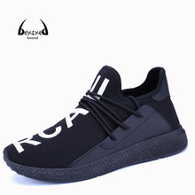 bexzxed Mens Outdoor Athletic Sport Sneakers Spring And Summer Breathable Mesh Upper Lace Up Black Gray Light Running Shoes