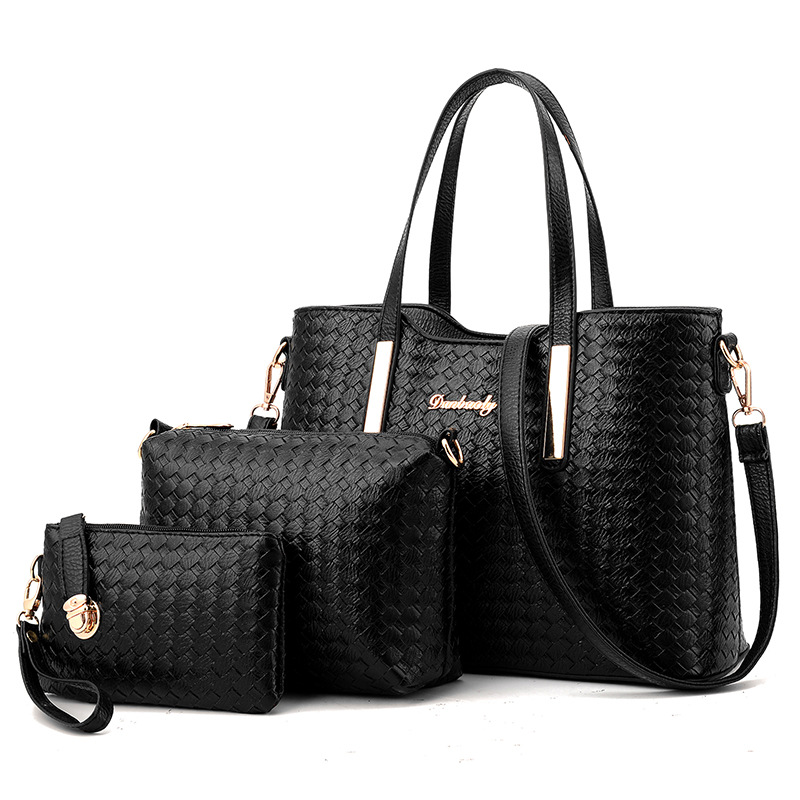 Luxury Women Designer Handbags High Quality Brand Ladies Plaid Shoulder Messenger Clutches Bags Set Sac A Main Femme De Marque<br><br>Aliexpress