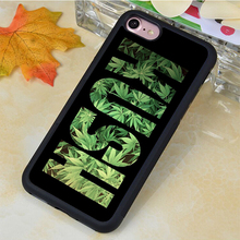 Popular KUSH pot weed Printed Soft Rubber Mobile Phone Cases For iPhone 6 6S Plus 7 7 Plus 5 5S 5C SE 4 4S Cover Skin Shell