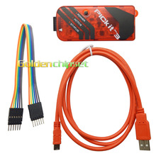 Microchip PICKIT3 PIC KIT3 PICKIT 3 Programmer Offline Programming PIC Microcontroller Chip Monopoly and Debugger Genuine(China)