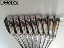 Brand New Boyea X2 Iron Set HOT Golf Forged Irons Golf Clubs 4-9PAS Regular and Stiff Flex Steel Shaft With Head Cover