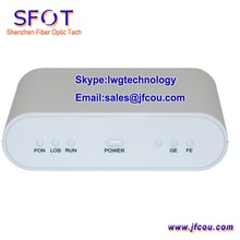 Network Routers Telecom Equipment 1GE+1FE EPON ONU ONT, comply with ZTE, Fiberhome OLT