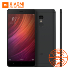 "Global Version Xiaomi Redmi Note 4 Mobile Phone 4GB RAM 64GB ROM Snapdragon 625 Octa Core CPU 5.5"" 1080p Display 13MP CE"