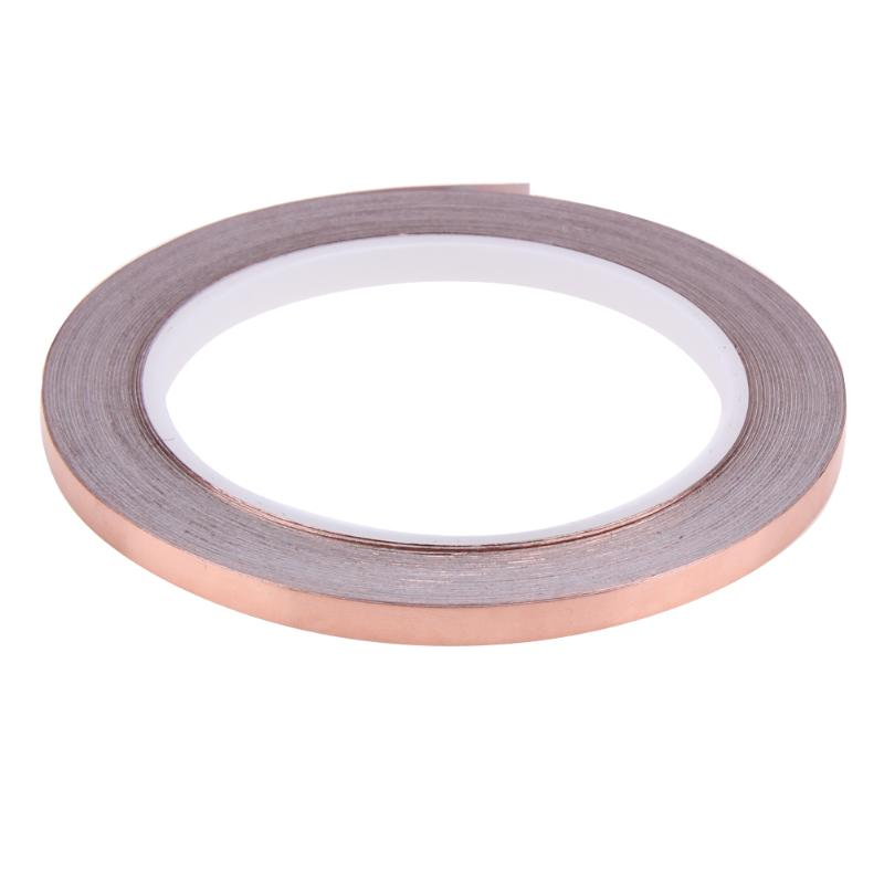 Flexible Copper Foil Tape 20mm x 6mm Double Sided High Conductive Adhesive