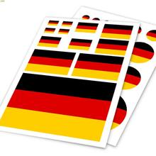 Germany flag logo stripes decoration sticker on car rear view mirrors ,car styling vinyl stickers and decals for BENZ/BMW/VW(China)