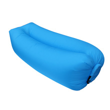 Rongyi Portable Furniture Fast Inflatable Sofa Outdoor Air Sleep Sofa Couch Lounger Living Room Sofas for Summer Camping Beach(China)