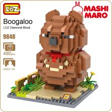 LOZ Ideas Boogaloo Bear Diamond Block Building Blocks Figure Cute Animals Animation Star Product Children Gift Models Nano 9848