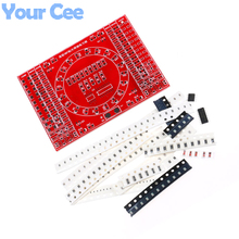 2 pcs DIY SMT SMD Component Soldering Welding PCB Practice Board Running Water Light Kit DIY Electronica