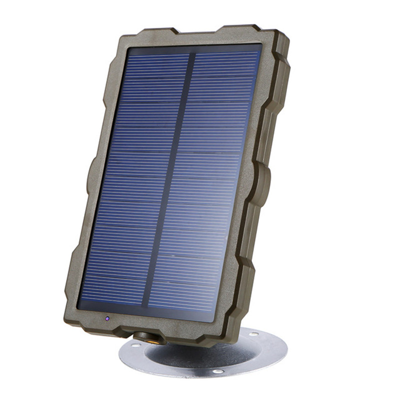 Outdoor Hunting Camera Battery Solar Panel Power Charger External Panel Power for Wild Camera Photo-traps H801 H885 H9 H3 H501 (7)
