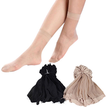 10 Pairs Women's Casual Thin Socks Sexy Breathable Transparent Short socks Summer Discount New Year's Socks(China)