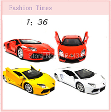 Lively For Baby Children Racing Car mobilization Kid's Pull back simulation Cars 1:36 Alloy Diecast Car Machine Model Toys Gift