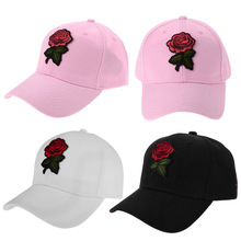 Women Baseball Cap Flower Embroidery Fashion Snapback Hat Hip Hop Cap Golf Run Riding Female Hat Caps Outdoor Leisure Visor