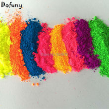 260g Mixed 13 colors Fluorescent pigments Fluorescent paint house painter paints with ultraviolet fluorescent powder Cosmetic