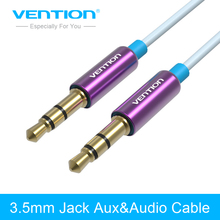 Vention 3.5 Jack AUX Cable 3.5mm Mini Jack Audio Cable For Car Honda Renault iPhone MP4 headphone beats speaker cable aux