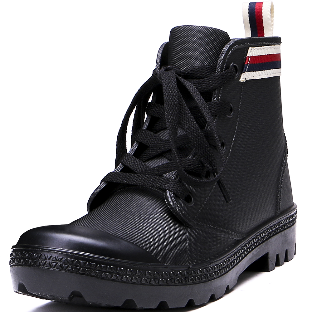 TONGPU Girls Ankle High Rain Boots Lightweight Street Sneaker Style Waterproof 126-399<br>